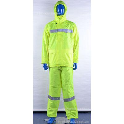 3M 安大叔反光衣 安全反光服 超强反光雨衣 三色可选 雨衣