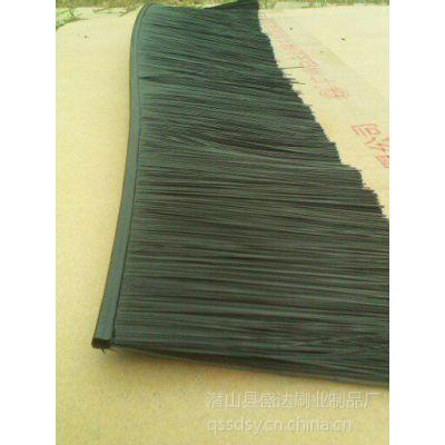供应厂家直销工业毛条刷/清洁防尘毛刷条/优质体软橡胶塑料条刷批发价格