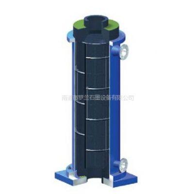 供应出口专用:YKC型圆块孔石墨换热器,可做再沸器,高效长寿命