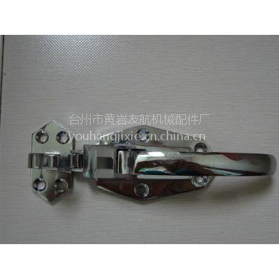 供应台州友航生产锌合金材质冷库门锁 烘箱烤箱门锁配件