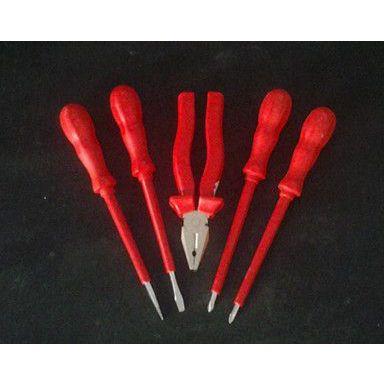 供应安防牌绝缘工具5件套抗电压1000v