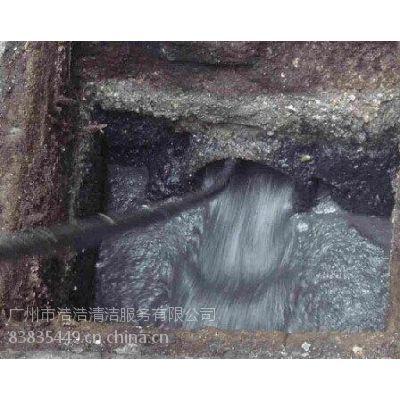 广州市越秀区专业餐厅清理化油池 疏通下水道价格便宜图片