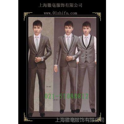 供应精品男式高档西装订做 上海西服量身定制 男士休闲西装