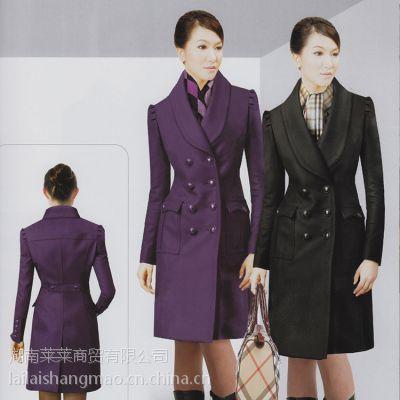 毛呢外套女2016新款秋冬装长款气质呢子大衣加厚女装呢大衣外套