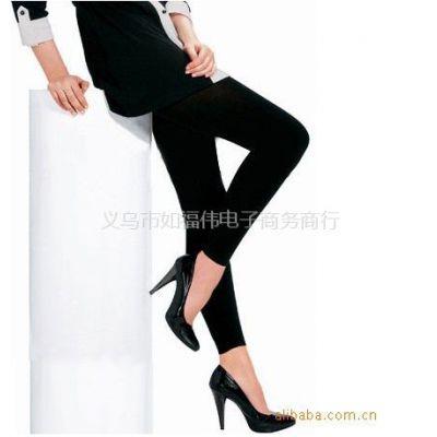 供应美腿丝袜120D 黑色加厚天鹅绒九分裤莫代尔秋冬新款打底裤靴裤