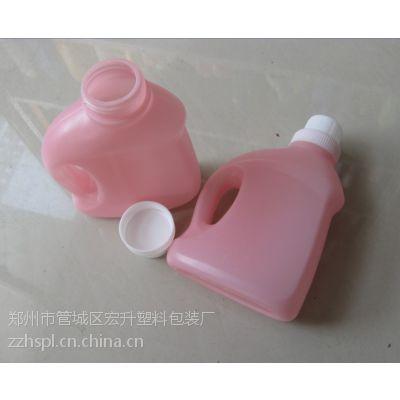 供应河南郑州500毫升化工包装塑料瓶消毒液洗衣液包装
