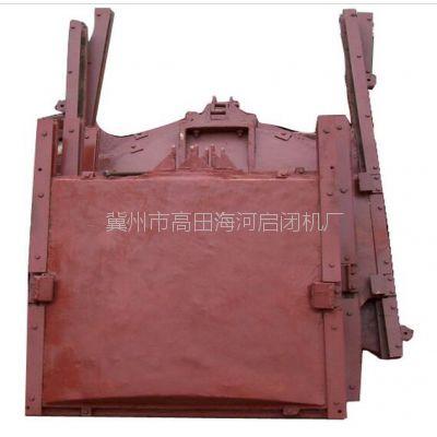 湘乡市销售海河0.4x0.4PZJY机闸一体铸铁闸门