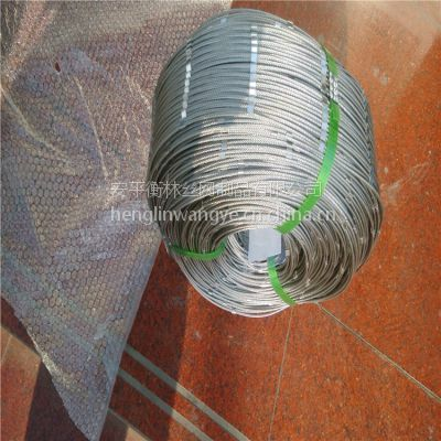 安平不锈钢绳网厂家 动物园防护网 装饰网