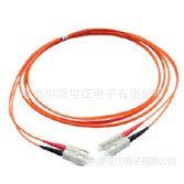SIMON 多模光纤双芯跳线, ST,50/125um OM2,LSZH,3米