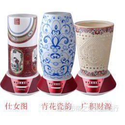 百乐瓷艺音乐台灯 陶瓷饰品 智能播放音箱