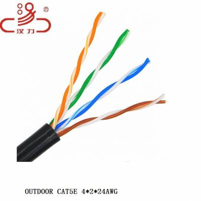 供应杭州室外0.5导体PVC单护套网络线