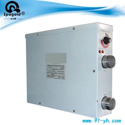 泳池设备 游泳池恒温器 电加热自动恒温器 温泉水疗池加热器
