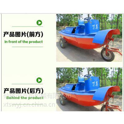 耒阳割草船 除草船找万英全液压式小型水面割草船