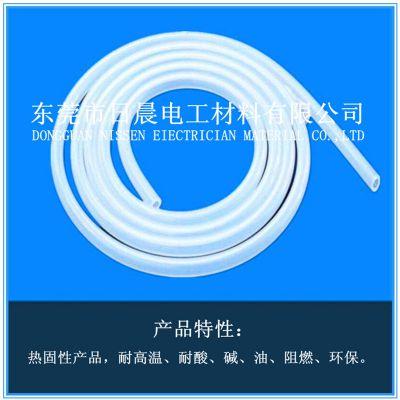 东莞市日晨电工材料有限公司耐高温高压SR单层透明硅胶管