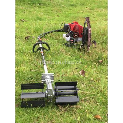 直销汽油二冲程收割机 背负式农用锄草机