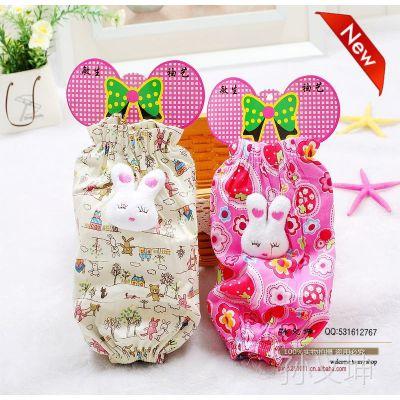批发供应特价韩版时尚男童女童碎花兔子头款套袖宝宝袖套防污护袖