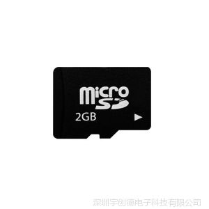 供应高速2g手机内存卡 三个月包换  工厂版2g存储卡 量大可丝印品牌