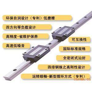 供应原装进口滑块安徽省珠海市台湾ABBA直线导轨滑块轴承