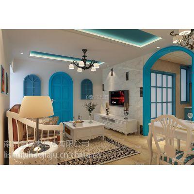 供应一号家居网地中海客厅装修效果图 室内装修 装潢设计