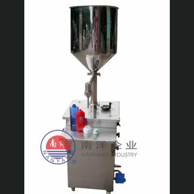 广州南洋半自动立式膏体灌装机 手动气动卧式灌装机规格齐全