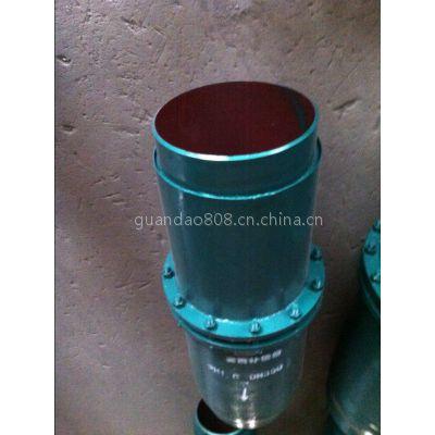 供应广元顺通牌热力管道DN600耐腐蚀不锈钢法兰套筒补偿器