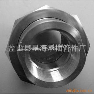 供应厂家生产 Theaded Union螺纹活接头 由任 碳钢 20# A105