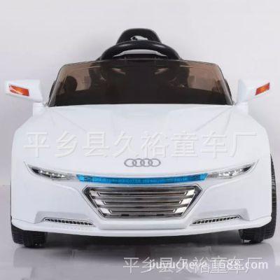 儿童电动汽车奥迪宝宝玩具遥控童车四轮可坐人彩光轮厂家直销