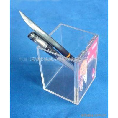 供应有机玻璃制品,收纳盒,亚克力笔筒,有机玻璃便签盒