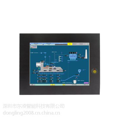 东凌12寸工业一体机/12.1寸嵌入式工控电脑/工业数控电脑
