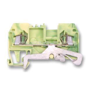 供应原装进口WAGO - 280-907 - 地线端子 DIN 绿色/黄色 24A
