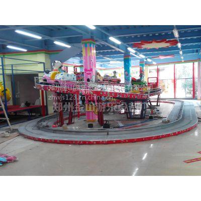 郑州金山游乐供应 儿童游乐设备迷你穿梭 十车现货供应