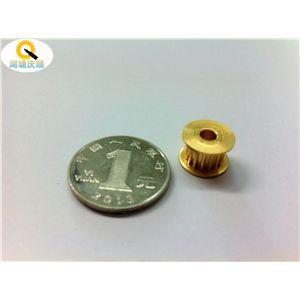 江苏机加工厂 小带轮加工 铜带轮 铝带轮 微型电机皮带轮