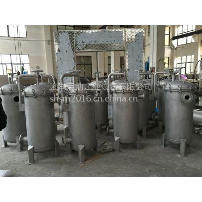 不锈钢袋式过滤器,液体袋式过滤器,多袋式过滤器上海申劢厂家供应