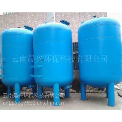 晨兴供应云南地区304不锈钢地下水除氯异味除铁过滤设备 解决农村饮用水问题