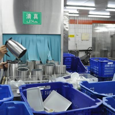 供应北京益友厂家生产冷链厨房设备豆浆冷却线