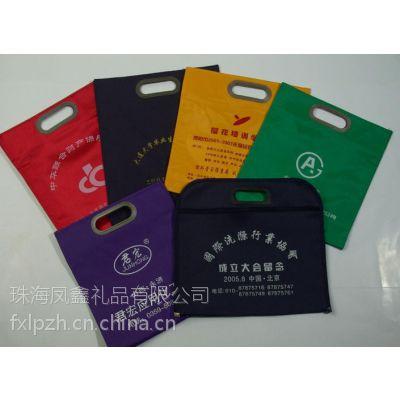 东莞牛津布广告袋,珠海礼品宣传袋,珠海牛津布文件袋手袋批发