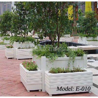 供应街道种植花箱组合 实木花箱广东厂商订做 实木大花箱组合