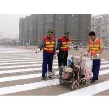 陕西交通标识牌批发安装、热熔标线单位价格