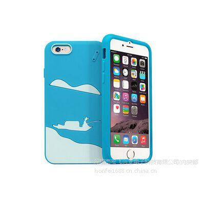 俊奇Jun-Q41 iphone6/6S手机保护套风景硅胶防摔4.7寸手机壳 厂家批发
