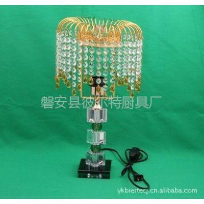 供应批发触摸式水晶台灯 灯饰灯具 水晶台灯 现代、简约、时尚