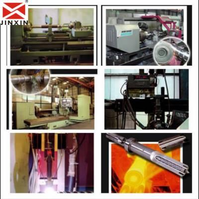 供应拉丝机螺杆机筒 覆膜机螺杆机筒 挤出机单螺杆价格 金鑫价格更优