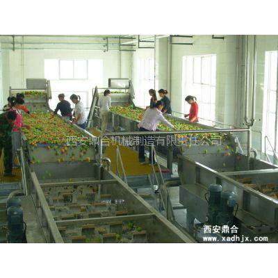 西安鼎合15T/h浓缩果汁生产线设备