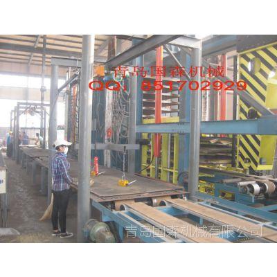 高质量设计合理木塑空心砖机托板压机生产厂青岛国森机械