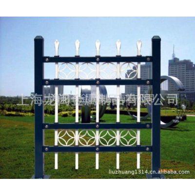 上海热镀锌围栏厂家(镀锌方管护栏)供应给类高品质围墙栏杆