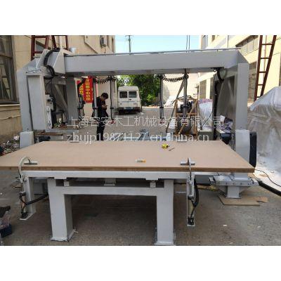 上海机械厂家出售、高效率纵横四边锯、板材数控清边锯、非标定制四边锯