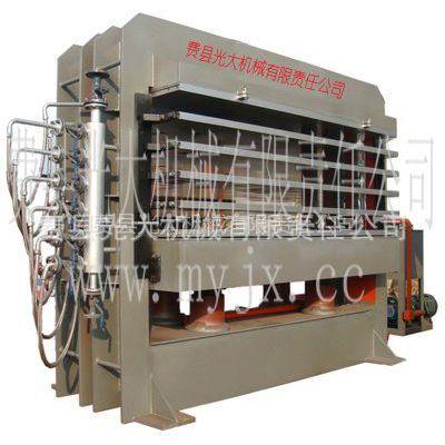 供应费县光大1200T1650*1300mm4层碳复合材料板材热压机