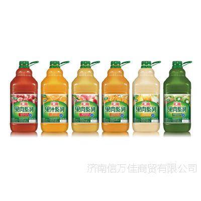 汇源果汁果蔬汁2.5L果肉橙汁桃汁济南代理经销厂价批发