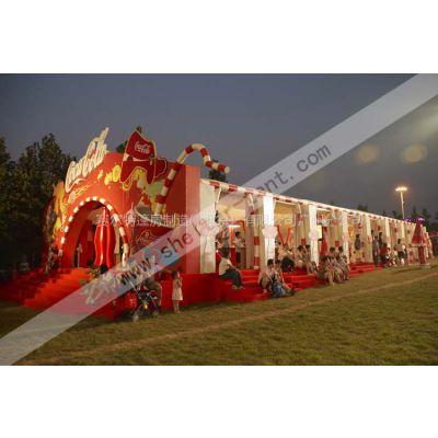 供应广州可口可乐促销活动篷房搭建
