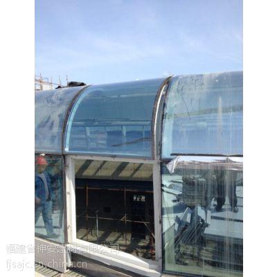 特殊中空弯钢化玻璃价格_ 异形钢化玻璃