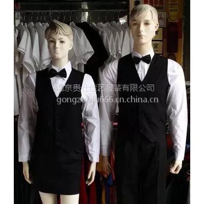 男士商务黑色秋季韩版修身羊毛西服套装 白色工作衬衫定制 北京贵仕佳艺